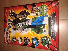 "Rare ""Power Rangers Jungle Fury"" Transforming Beast Master Megazord by Bandai!"