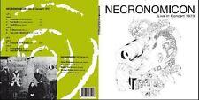 NECRONOMICON Live in Concert 1973 Doppel-Vinyl-LP 2x180g handsigniert