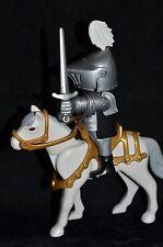 Playmobil, Medieval, caballero del cisne, señor de la guerra, castillo.