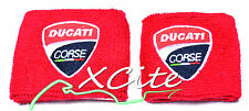 Reservoir sock set front & rear for Ducati owners, red #RS301AB#