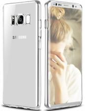 Reboos Samsung Galaxy S8 Plus Clear Phone Case Cover Ultra Thin TPU Soft Slim +