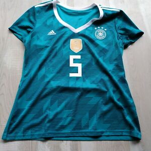 Hummels Germany Team Away football shirt 2018-2019 Adidas BR3149 Woman SZ XL UA1