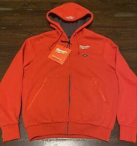 Milwaukee M12 Small Red Heated Hoodie Jacket & Battery Holder 48-59-1201