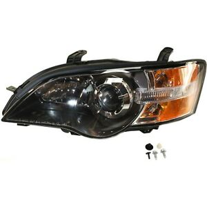 Headlight For 2005 Subaru Outback Legacy Left Clear Lens With Bulb
