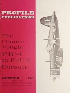 Aeronautica Profile Publications N.150 Chance Vought F4U-4 to F4U-7 Corsair 1966
