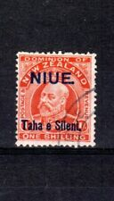 More details for new zealand - niue 1911 1s nz surcharge and opt  fu cds