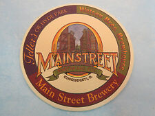 Beer Bar COASTER ~^~ MAIN STREET Brewery & Watson Bros Brewhouse, OHIO ** CLOSED