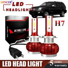2800W Mini H7 LED Headlight Conversion Fog Bulb Kit 420000LM Xenon White 6000K X