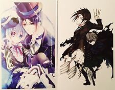 Kuroshitsuji Black Butler-CIEL SEBASTIAN ALOIS CLAUDE Postcard Photo Card Set #C