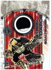 Byron Dafoe & Darren McCarty 2000-01 Vanguard Dual Game-Worn Jersey Card #13