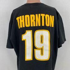 Majestic Joe Thornton Boston Bruins Jersey T-Shirt XL Vintage NHL Hockey Black