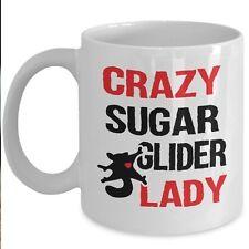 Funny Suggie Parent Mug - Crazy Sugar Glider Lady Coffee & Teacup-Marsupial Gift