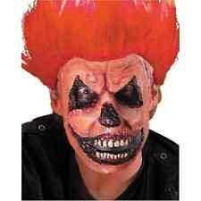Evil Jack O' Lantern Pumpkin Scary Halloween Costume Makeup Latex Prosthetic