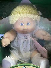 Rare Tri-Ang Pedigree 1983 Cabbage Patch Kids Blonde Blue Eyed Girl Doll