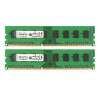 For Kingston 8GB 2X 4GB DDR3 1600MHz PC3-12800U 240pin Desktop Memory RAM DIMM #