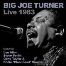 """Big Joe Turner Live 1983 CD NEW SEALED Blues Eddie """"Cleanhead"""" Vinson/Lee Allen"""