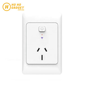 Smart Single Power Plug Outlet WIFI Mechanical APP Home Wall Socket AUS Standard