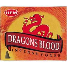 One 10-Cone Box Hem Dragon's Blood Incense Cones