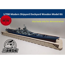 1/700 Floating Dry Dock Laser Cut Wood Kit