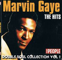 Marvin Gaye + The Temptations Discs 1 + 2 - Music CD N/Paper