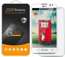 3X Supershieldz LG Optimus L70 Tempered Glass Screen Protector Saver
