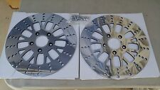 11.8mm VCUT ROTORS 4 HARLEY TOURING INCLUDE TO 2008/later  INCLUDES  HARDWARE