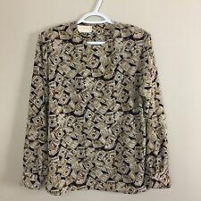 Pendleton Women's Vintage Blouse Top 12**