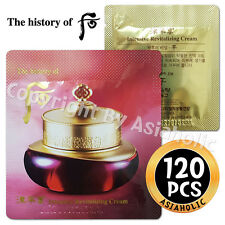 The history of Whoo Intensive Revitalizing Cream 120pcs Jinyul Cream Newist Ver