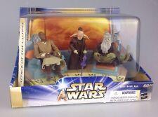Star wars attaque des clones jedi high council 1 de 2 mace, oppo & even piell