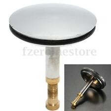 Replacement Adjustable Bath Basin Kitchen Sink Pop Up Plug Chrome Stainless
