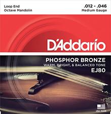 D'Addario EJ80 Phosphor Bronze Octave Mandolin Str