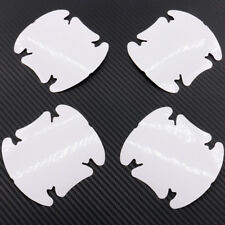 Hot Invisible Clear Car Door Handle Paint Scratch Protector Guard Film Sheet 4pc
