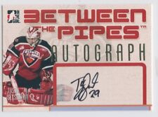06-07 BETWEEN THE PIPES AUTOGRAPH AUTO TYSON SEXSMITH GIANTS *49788