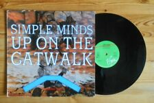 "Simple Minds, Up on the Catwalk, 12"" vinyl EP, Virgin Records 1984"
