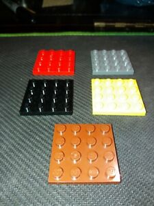 LEGO Flat Plate 4x4 pt.3031 (pack of 5) free postage choose colour
