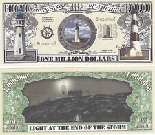 10 Lighthouse Ocean Light History Money Bills Lot