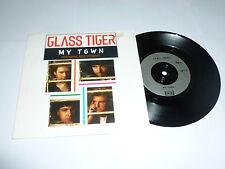 "GLASS TIGER FEATURING ROD STEWART - My Town - 1991 UK 2-track 7"" Vinyl Single"