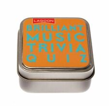 Lagoon Games Brilliant Music Triva Quiz Table Top Game Novelty Stocking Filler