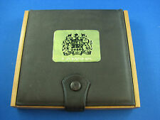 Canada 1980 Prestige set leather and wood Uncirculated set