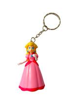 Nintendo Super Mario Bros Porte-clés Figurine 3D Princess Peach Princesse 5,5 cm
