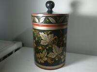 RussianKhokhlomalacquered canister.
