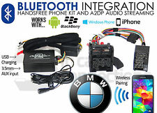 BMW 5 Series Bluetooth streaming handsfree calls E39 CTABMBT007 AUX MP3 iPhone