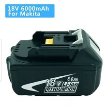 Makita Battery 6.0ah 18v Li-ion Battery BL1860B LXT for Drill Saw Drivers