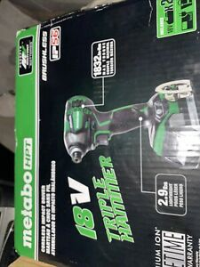 Metabo WH18DBDL2(C )18V Cordless Impact Driver With (2)1.5ah Batteries And Charg