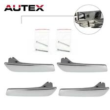 Set Of 4 Inside Door Handle LH RH Repair Kit For Cadillac Escalade EXT 2007-2013