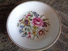 Royal Worcester small plate Made in England Floral