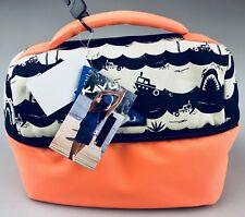 KAVU BreakTime Bag Orange Shark Bait Insulated School Lunch Box Cooler Ice Chest