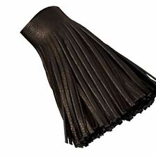 "Black Deer Tanned Garment Fringe 4"" X 36"" Strip 5035-51 by Tandy Leather"