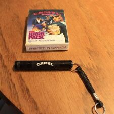 Vintage Camel new Cards, keychain/flashlight (Rc)