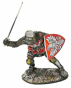 ELITE PAINTING TIN SOLDIER MEDIEVAL KNIGHT 54 MM
